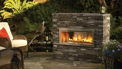 Regency Horizon Hzo42 Outdoor Gas Fireplace